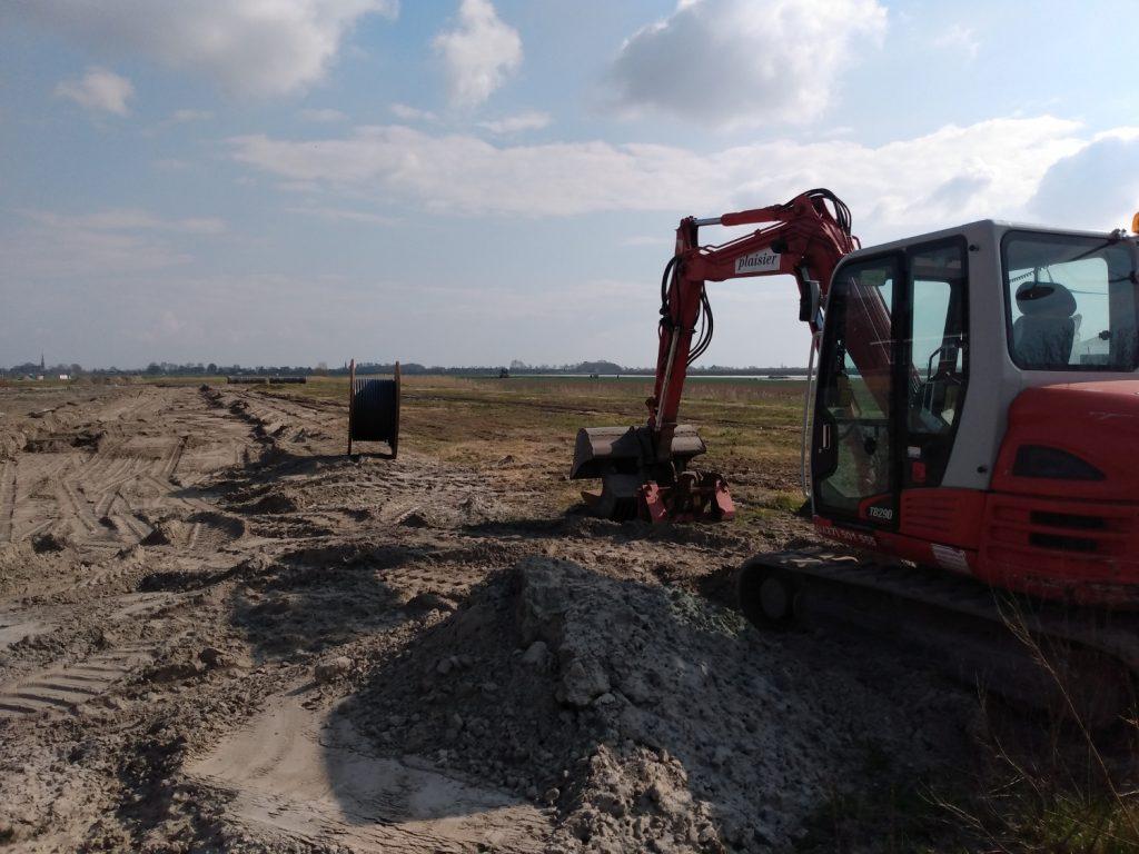Graafwerkzaamheden Zwaagdijk-Oost